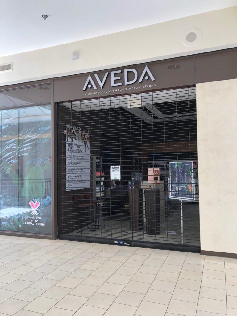 mall closed